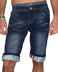 Bermuda homme en jean pour l'été